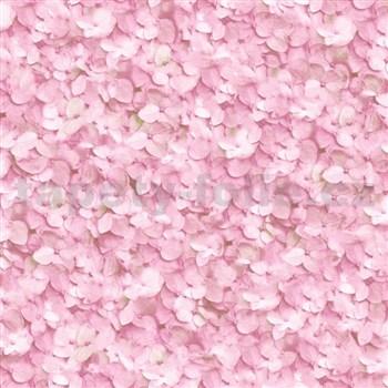 Vliesové tapety na zeď Virtual Vision hortenzie růžová