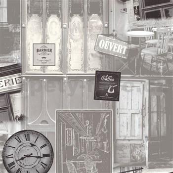 Vliesové tapety na zeď Virtual Vision Coffee hnědé
