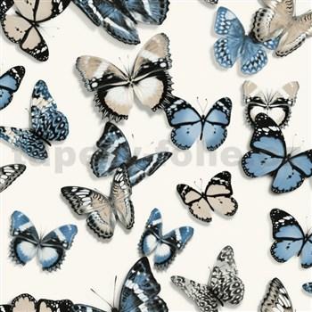 Vliesové tapety na zeď Virtual Vision motýli modří