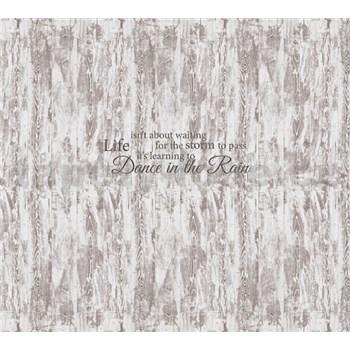 Luxusní vliesové fototapety prkenná stěna, rozměr 300 cm x 270 cm