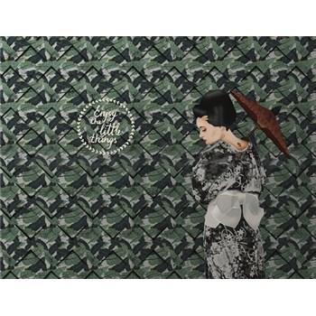Luxusní vliesové fototapety designová stěna, rozměr 350 cm x 270 cm