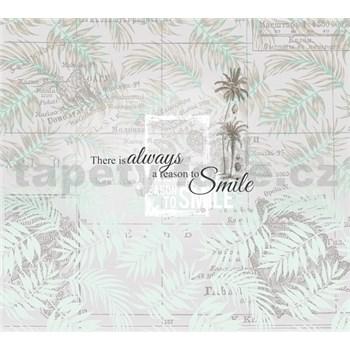 Luxusní vliesové fototapety palmy, rozměr 300 cm x 270 cm