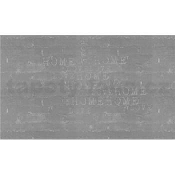 Luxusní vliesové fototapety cihlová zeď s nápisy, rozměr 450 cm x 270 cm