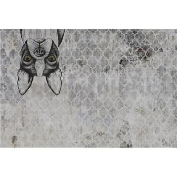 Luxusní vliesové fototapety buldoček BEZ TEXTU, rozměr 400 cm x 270 cm