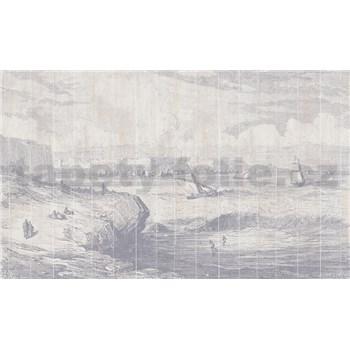 Luxusní vliesové fototapety moře a lodě BEZ TEXTU, rozměr 450 cm x 270 cm