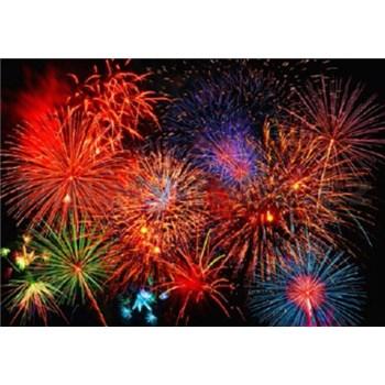 Fototapety Fireworks rozměr 366 cm x 254 cm