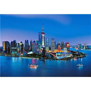 Fototapety Shanghai Skyline rozměr 366 cm x 254 cm