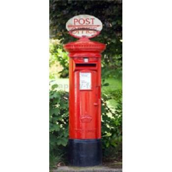 Fototapety Postbox rozměr 86 cm x 200 cm