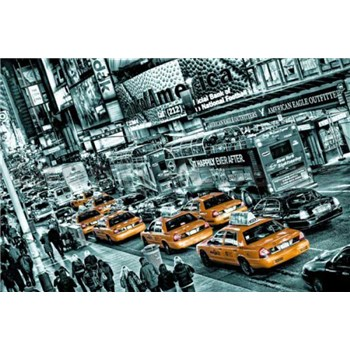 Fototapety Cabs Queue