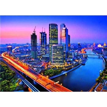 Fototapety Moscow Twilight rozměr 366 cm x 254 cm