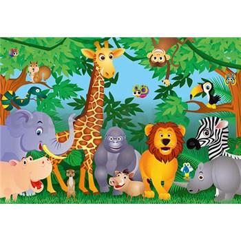 Fototapety Jungle rozměr 366 cm x 254 cm