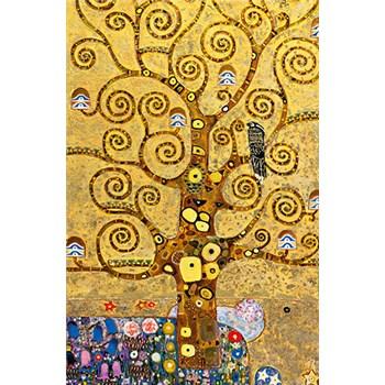 Fototapety Gustav Klimt Tree of Life rozměr 115 cm x 175 cm