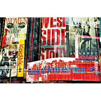 Fototapety Times Square Neon Stories rozměr 175 cm x 115 cm