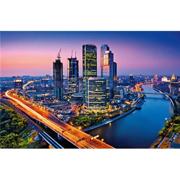 Fototapety Moscow Twilight rozměr 175 cm x 115 cm