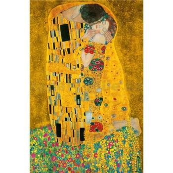 Fototapety Gustav Klimt The Kiss rozměr 115 cm x 175 cm