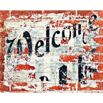 Vliesové fototapety Welcome rozměr 200 cm x 160 cm