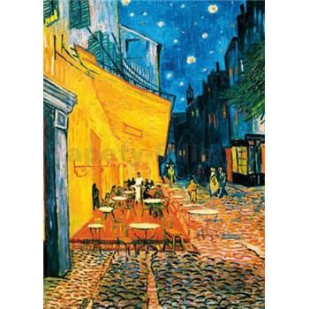 Fototapety Terrasse de Cafe la Nuit rozměr 183 cm x 254 cm