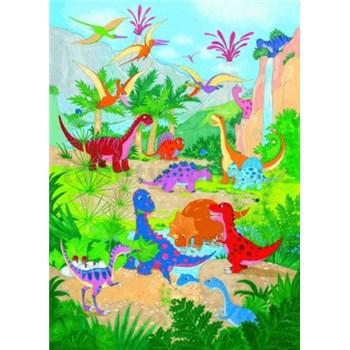 Fototapety Dino World rozměr 183 cm x 254 cm