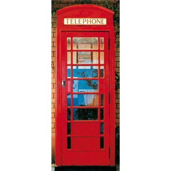 Fototapety Telephone Box rozměr 86 cm x 200 cm