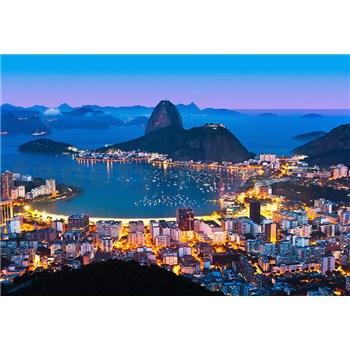 Vliesové fototapety Rio De Janero rozměr 366 cm x 254 cm