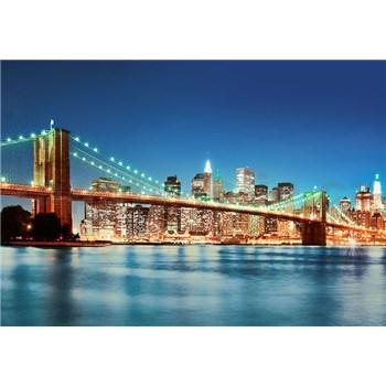Vliesové fototapety New York East River rozměr 366 cm x 254 cm