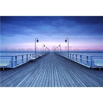 Vliesové fototapety molo Pier At The Seaside rozměr 366 cm x 254 cm
