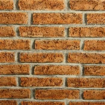Papírové tapety na zeď - světlá cihla
