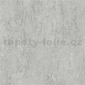 Vliesové tapety na zeď IMPOL Wood and Stone 2 beton šedý se strukturou