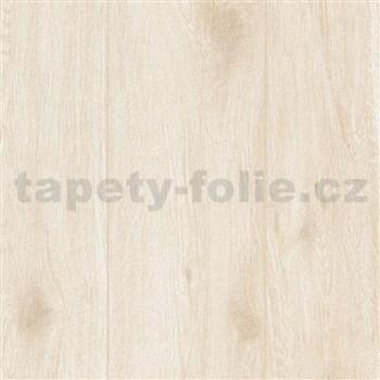 Vliesové tapety na zeď IMPOL Wood and Stone 2 dřevo s patinou béžové