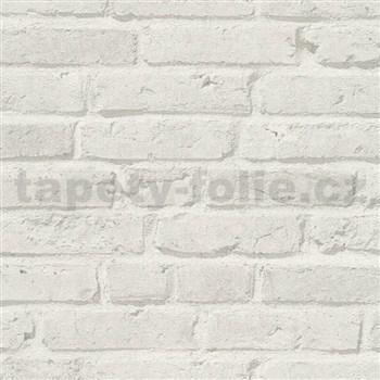 Vliesové tapety IMPOL Wood and Stone 2 cihly šedé