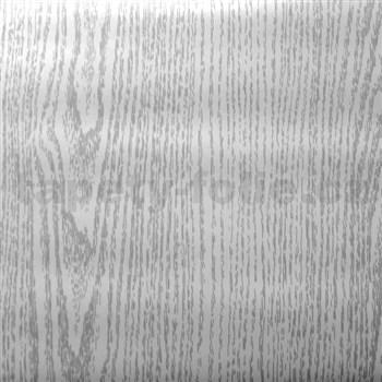 Samolepící tapety dubové dřevo šedé - 90 cm x 15 m