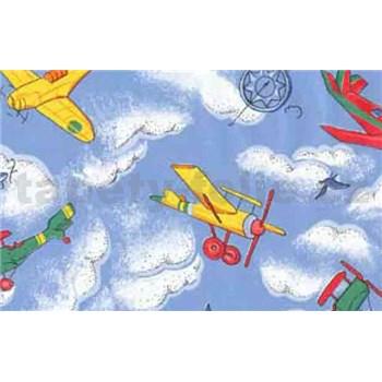 Samolepící tapety dětské - letadla 90 cm x 15 m