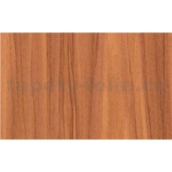 Samolepící tapety dřevo třešeň - 90 cm x 15 m
