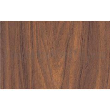 Samolepící tapety dřevo vlašský ořech - renovace dveří - 90 cm x 210 cm