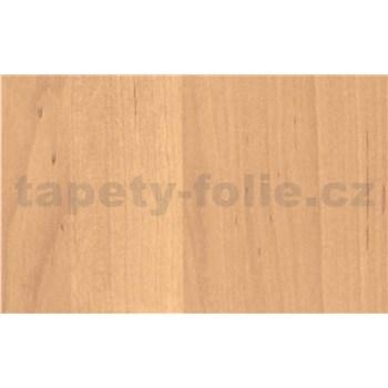 Samolepící tapety olšové světlé dřevo - 90 cm x 15 m