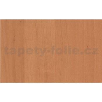 Samolepící tapety olšové tmavé dřevo - renovace dveří - 90 cm x 210 cm