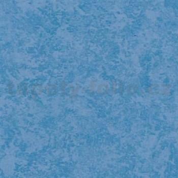 Samolepící tapety štukový vzhled - modrá - 90 cm x 15 m