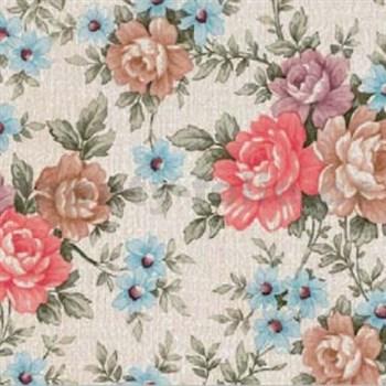 Samolepící tapety květy Romantic 45 cm x 15 m
