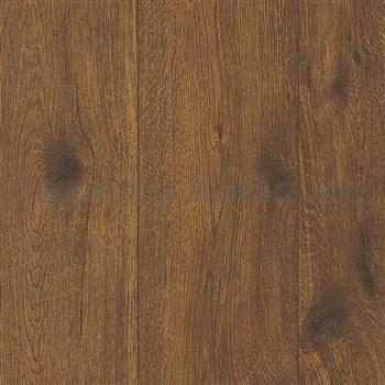 Vliesové tapety na zeď Wood´n Stone dřevo dubové hnědé