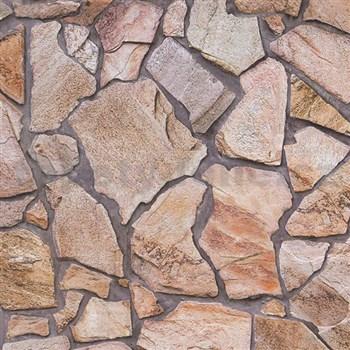 Vliesové tapety na zeď Wood´n Stone kámen štípaný barevný