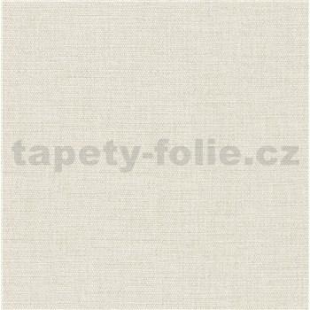 Luxusní vliesové tapety na zeď Avalon textilní struktura béžová