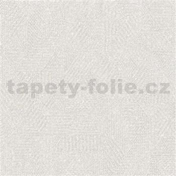 Luxusní vliesové tapety na zeď Avalon geometrický vzor světle hnědý