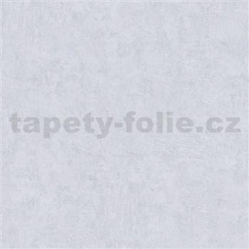 Luxusní vliesové tapety na zeď Avalon strukturovaná omítka světle šedá