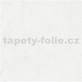 Luxusní vliesové tapety na zeď Avalon hrubá omítka bílá