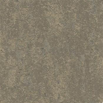 Luxusní vliesové tapety na zeď Avalon hrubá omítka hnědá