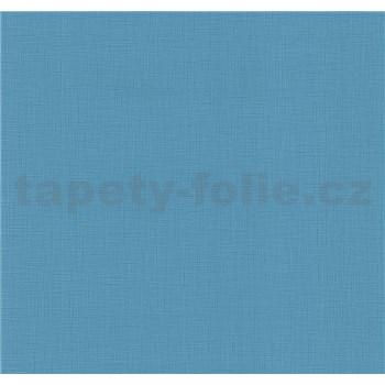 Vliesové tapety na zeď Blues strukturovaná modrá