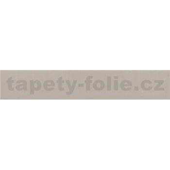 Samolepící bordura zlato-hnědá 10 m x 2 cm