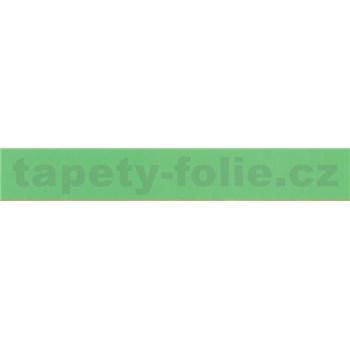 Samolepící bordura zelená 10 m x 2 cm