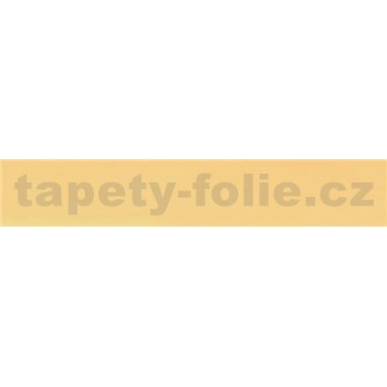 Samolepící bordura žlutá 10 m x 2 cm