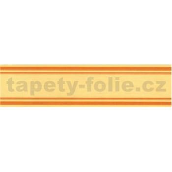 Samolepící bordura žlutá 5 m x 3 cm